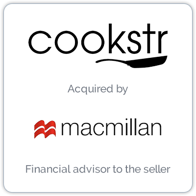 Cookstr operates a consumer-facing recipe Website and a hub for recipe searches in partnership with organizations.