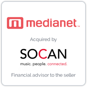 MediaNet is a rights management company that provides music and metadata delivery technologies, while ensuring rights owners are properly compensated for their work.