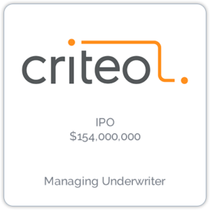 Criteo is a retargeting company that works with Internet retailers to serve personalized online display advertisements to consumers.