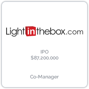 Lightinthebox is an international online retail company that delivers apparel, small gadgets, and home and garden products to consumers.