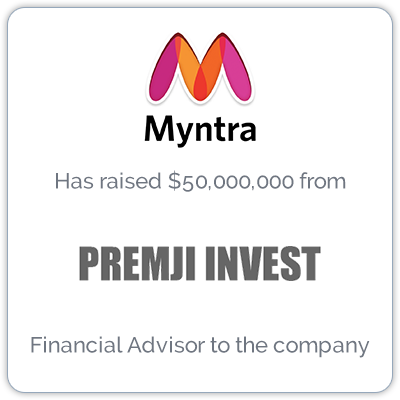 Myntra is an Indian fashion e-commerce company that sells personalized gift items.