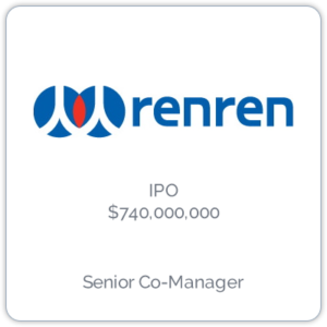 Renren is a social networking service and Internet finance business in China.