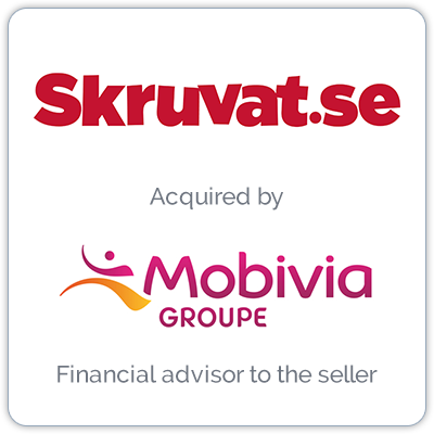 Skruvat is an e-Commerce leader in automobile parts and accessories.