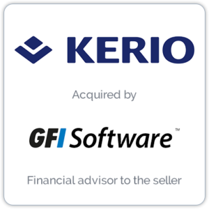 Kerio Technologies provides collaboration software and unified threat management for small and medium organizations.