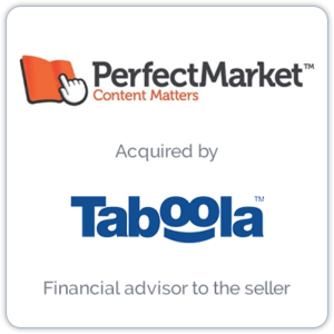 Perfect Market is a programmatic advertising company that helps publishers increase traffic and revenue.