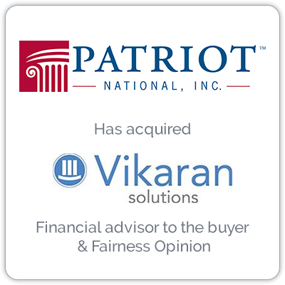 Patriot National is a provider of technology and outsourcing solutions to the insurance industry.