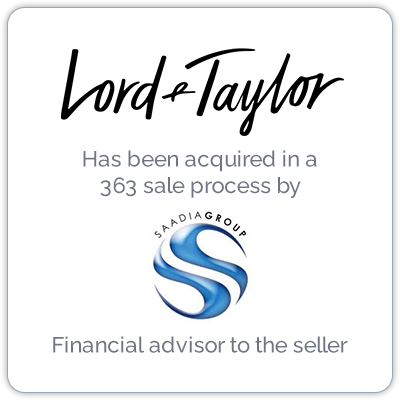 Lord & Taylor is an American department store chain