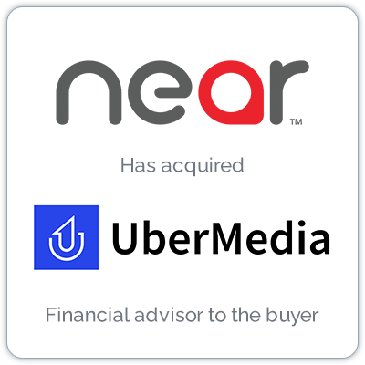 Near, the world's largest source of intelligence on people and places, has acquired data insights leader, UberMedia